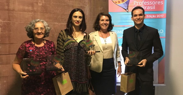 Mari Cecilia Silvestre da Silva, Kátia Bomfiglio Espíndolo, Lúcia Dellagnelo e Jayse Antônio da Silva Ferreira