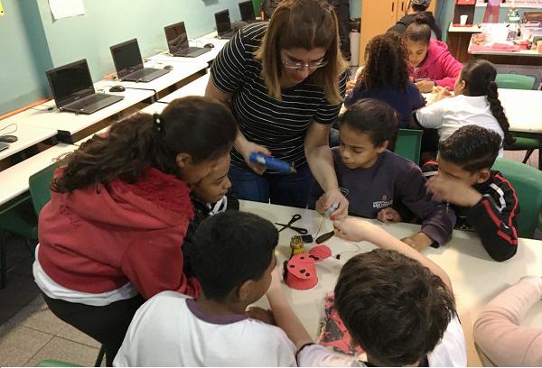 robotica grupo com professora