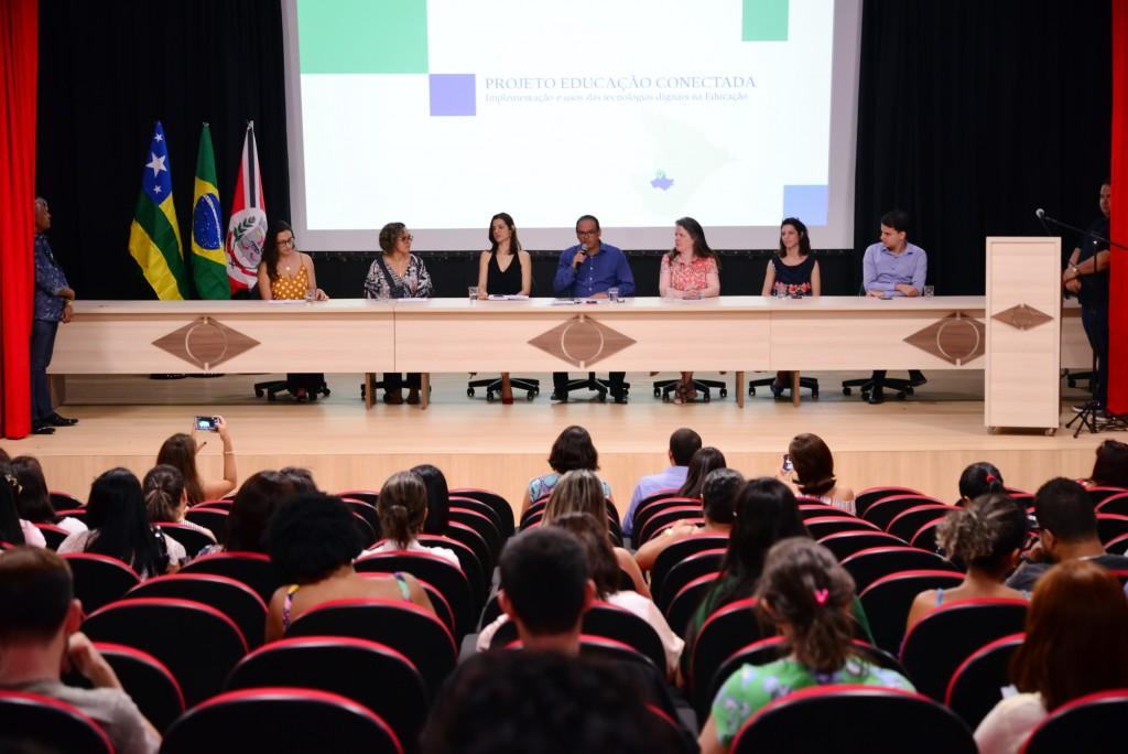 Lançamento do projeto Educação Sergipe Conectada.